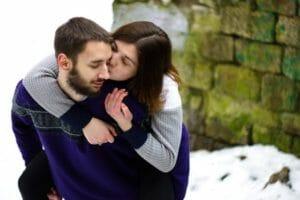 Couple fiancés